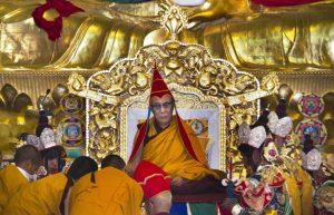 Dalai Lama in Tibet