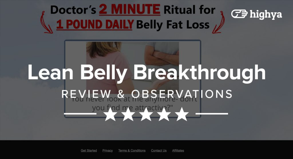 Lean Belly Breakthrough pdf